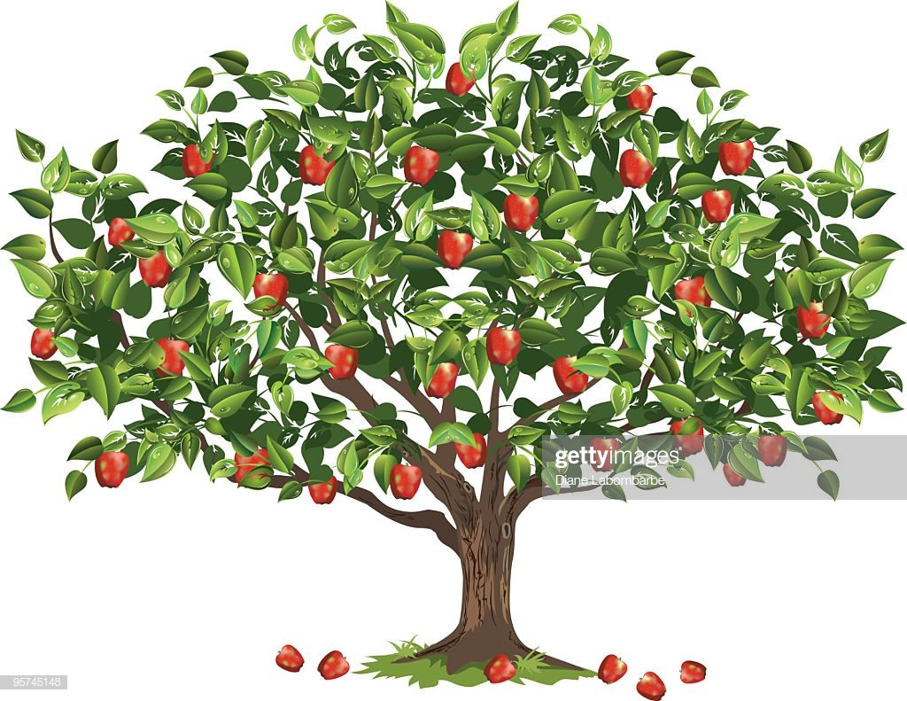 60 Top Apple Tree Stock Illustrations, Clip art, Cartoons, & Icons.