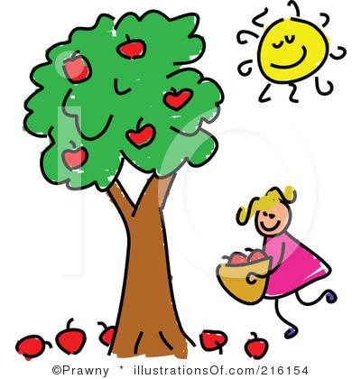 Bare Apple Tree Clipart.