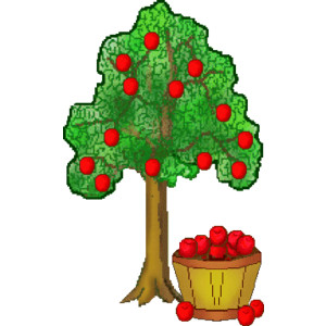 Apple Tree Clipart.