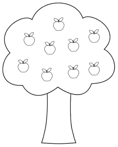 Best Tree Clipart Black And White #18978.