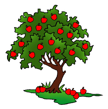 Cartoon Apple Tree.