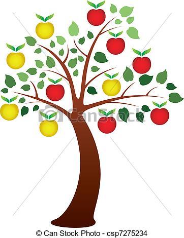 Apple tree Stock Illustrations. 8,960 Apple tree clip art images.