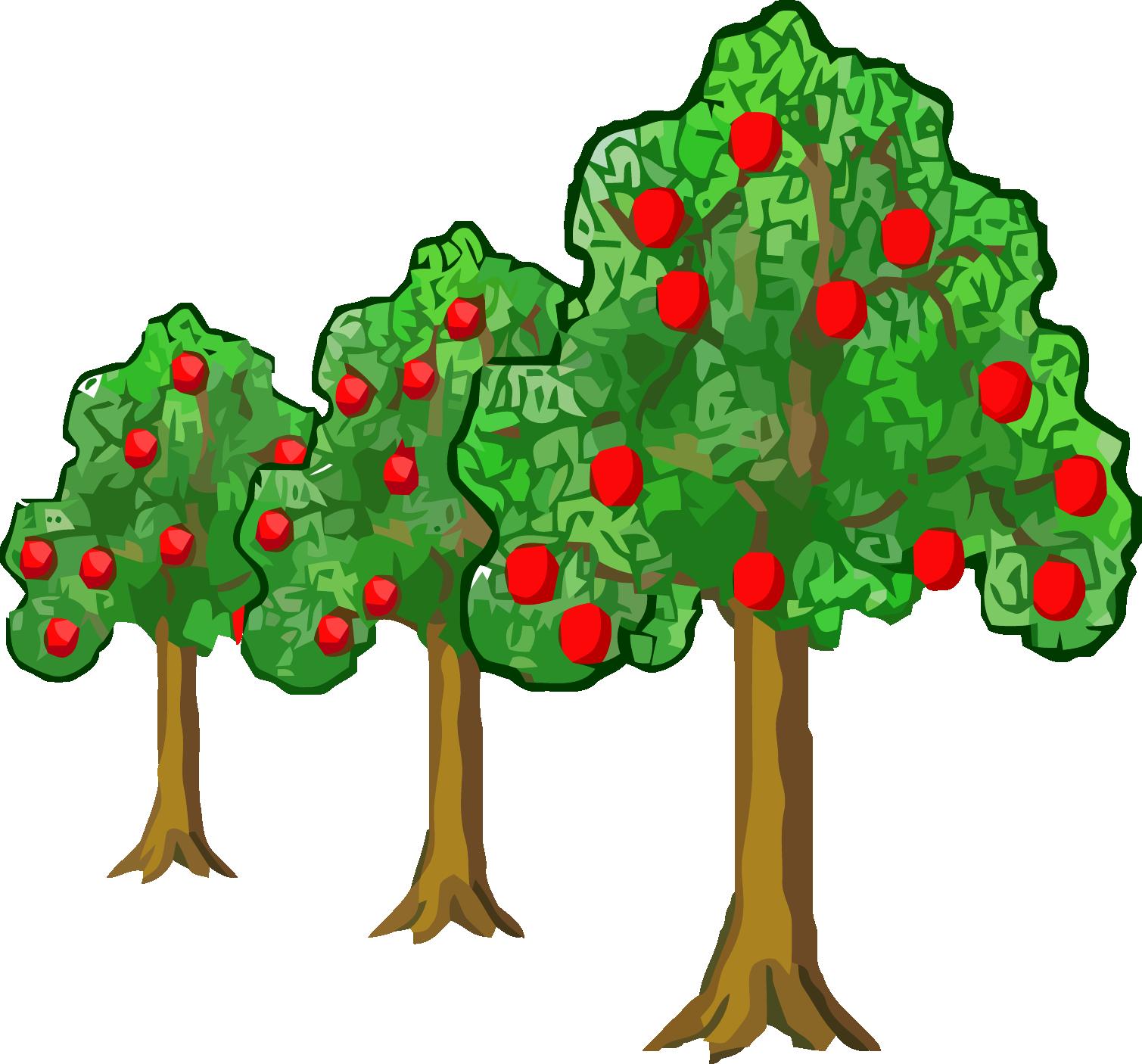 Far Near Apple Tree Clipart Png.