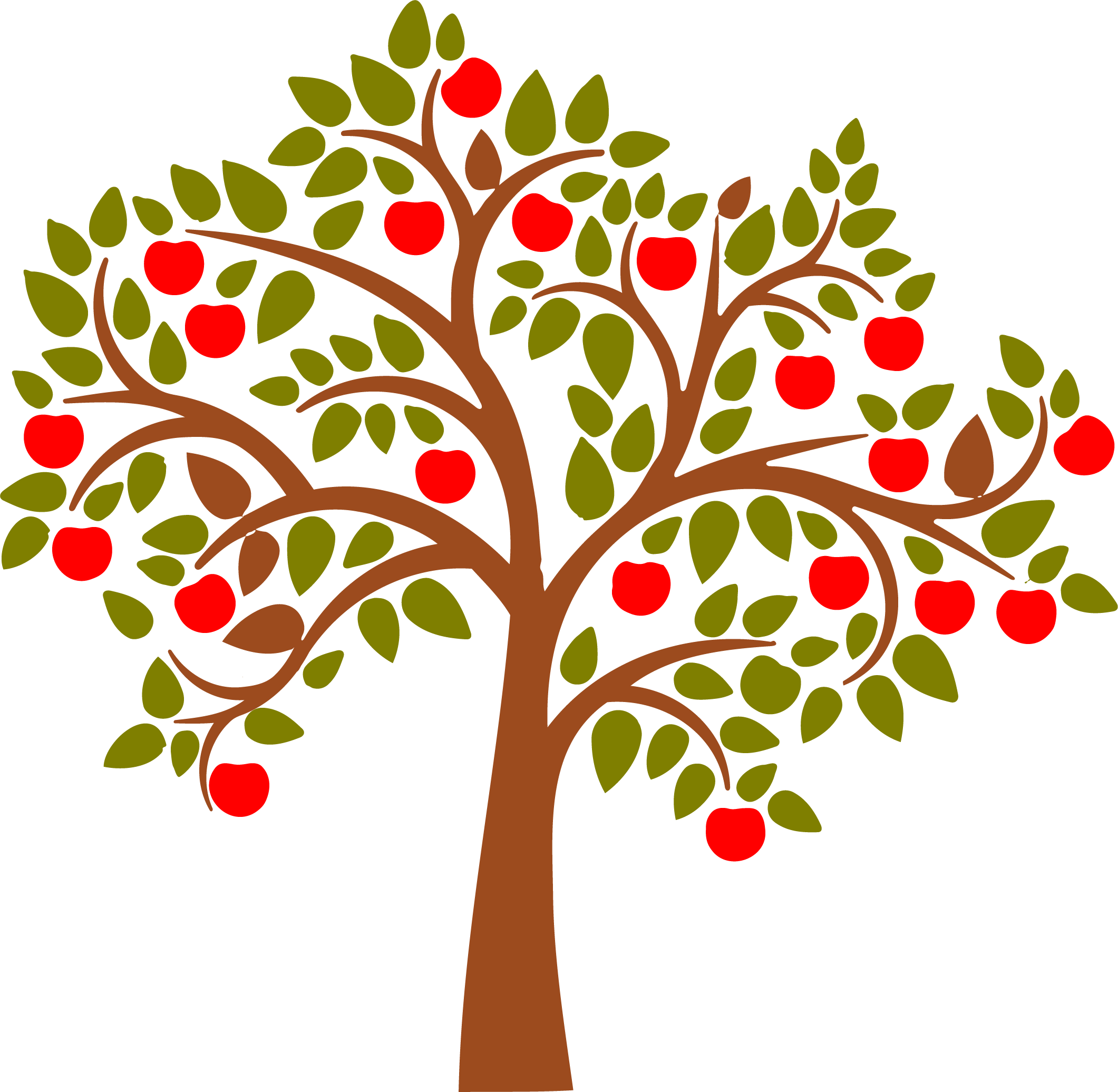 HD Wall Decal Apples.