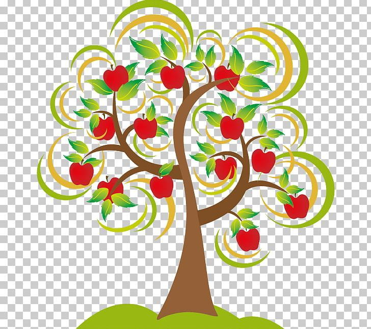 Apple Tree Drawing PNG, Clipart, Apple, Apples, Artwork.