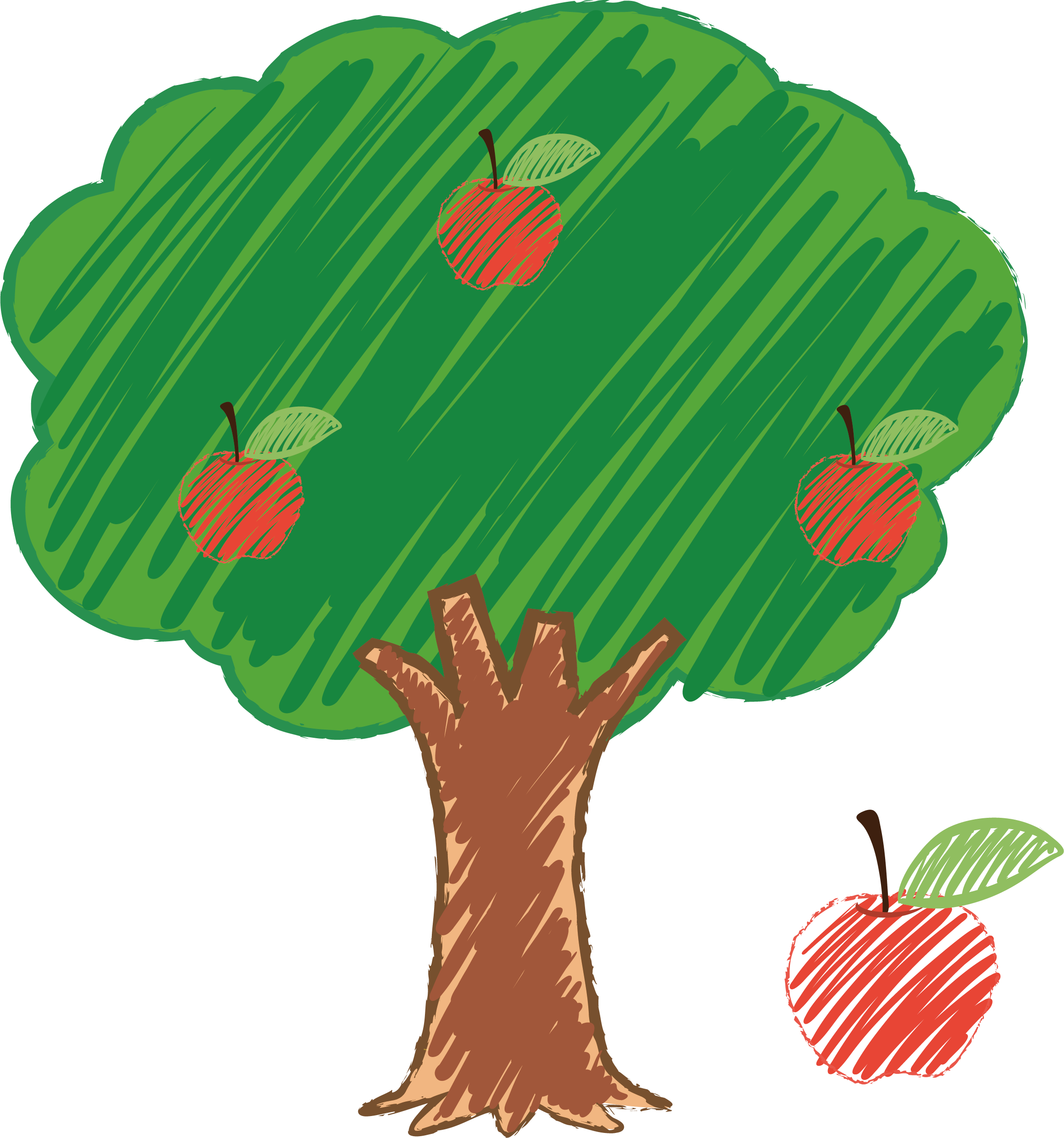 Leaf clipart apple tree, Picture #1524432 leaf clipart apple.