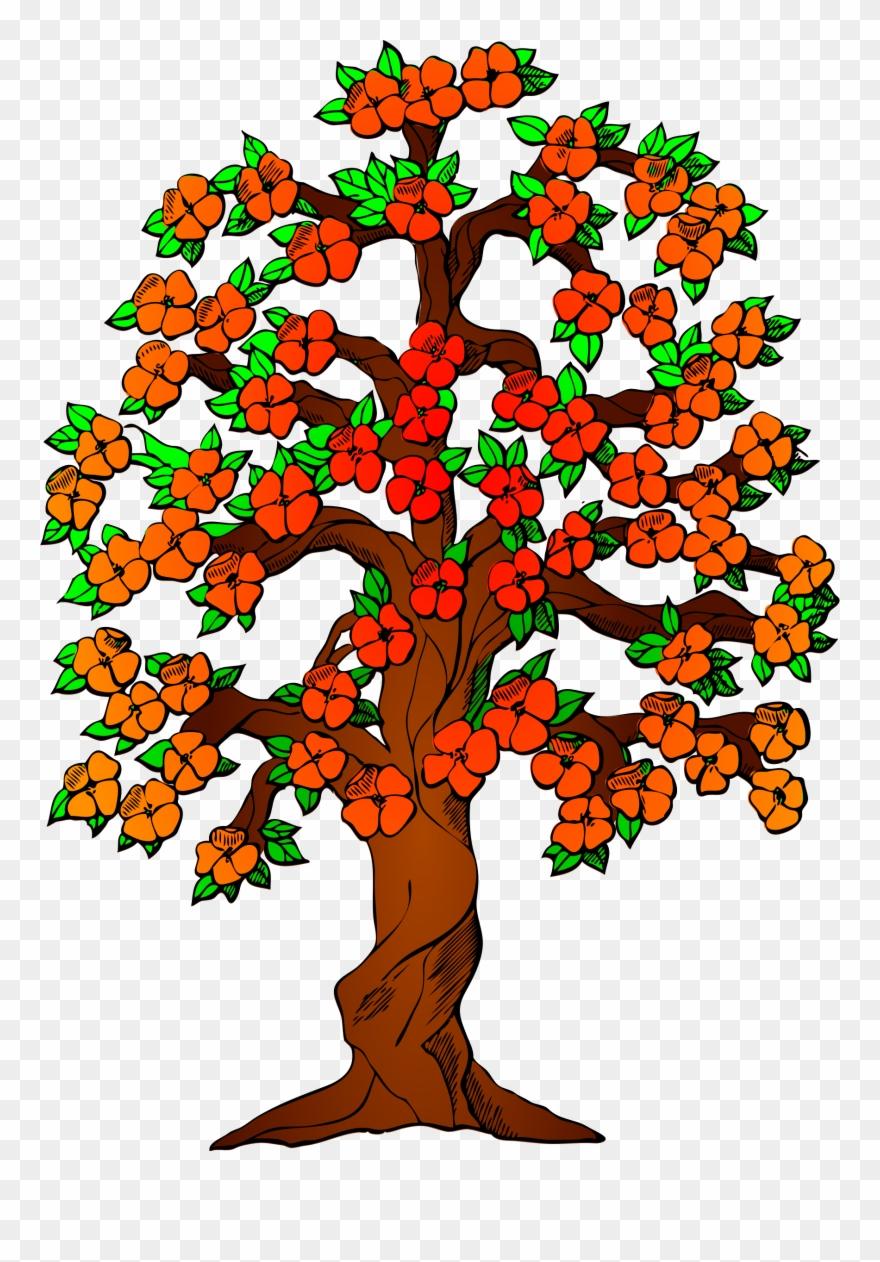 Tree Clipart Rose Apple.