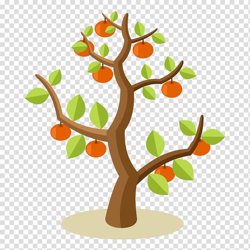 Orange tree , Apple Fruit tree , apple tree transparent.