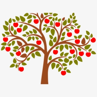 Roots Clipart Apple Tree.