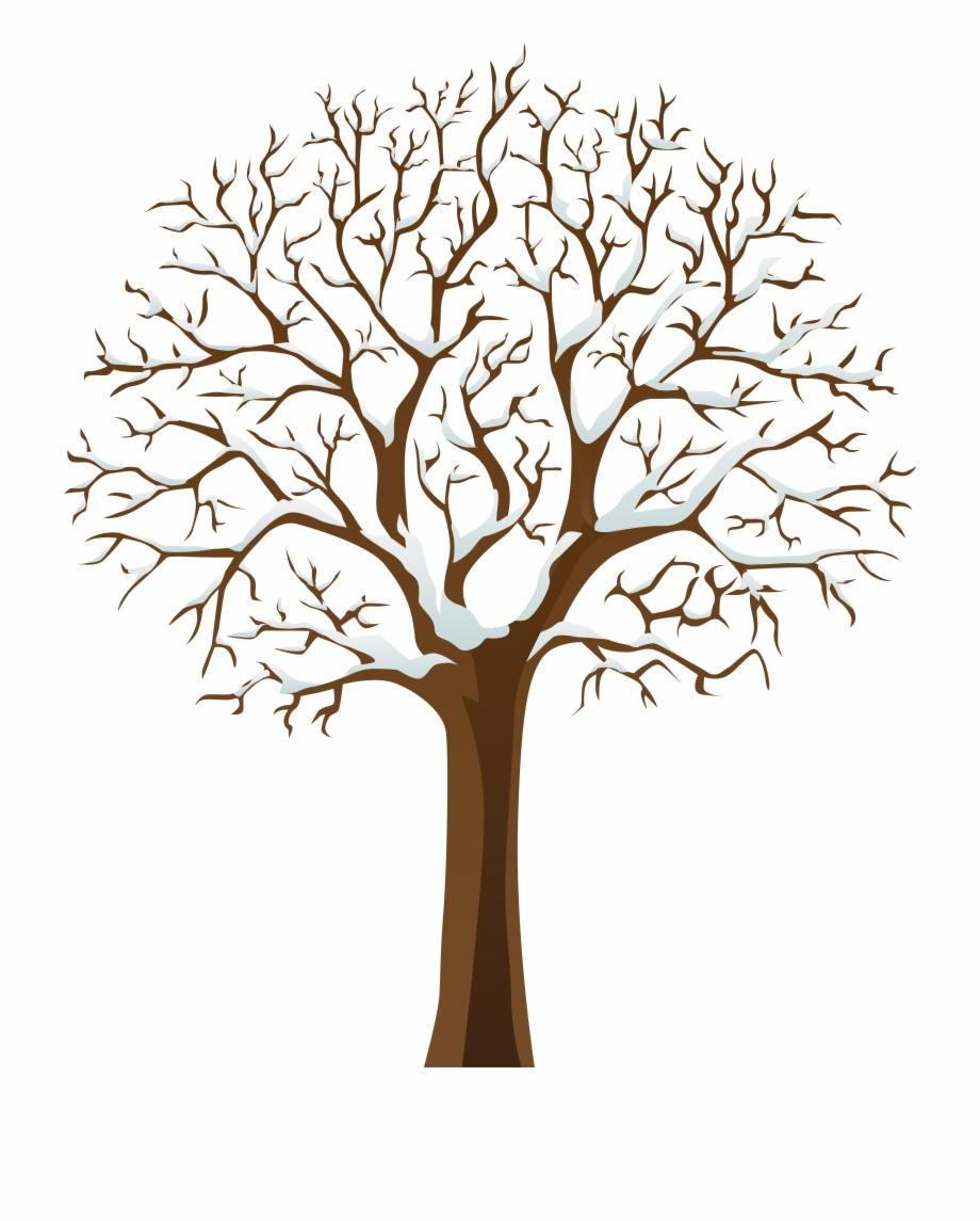 Tree Winter Clipart.