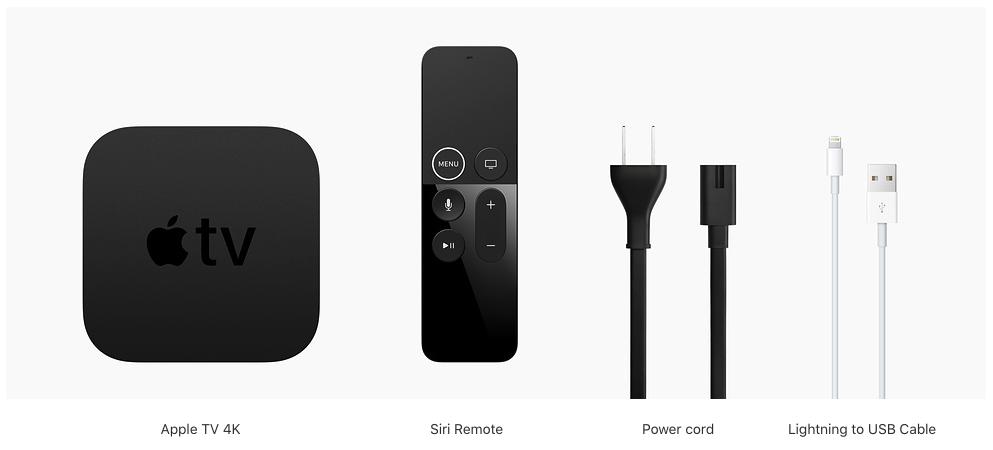 Apple TV 4K.