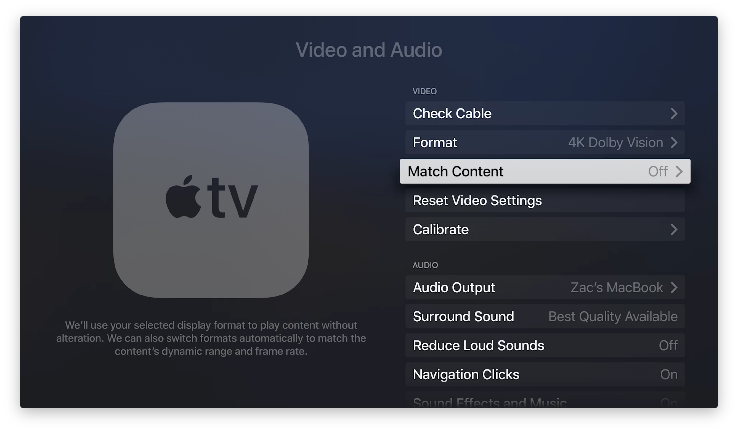 tvOS 11.2 with new HDR and frame rate options now available for.