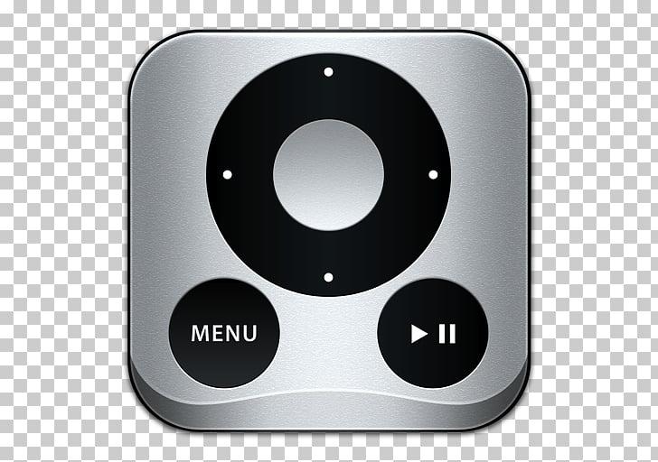 Hardware electronics font, Apple Remote, Apple TV remote.