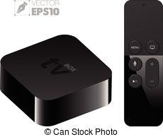 Apple tv remote control Vector Clip Art EPS Images. 3 Apple.