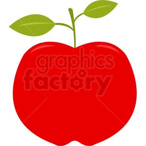 apple vector clipart. Royalty.
