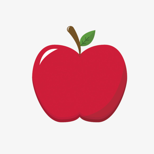 Red Apple Vector Material, Apple Vector, Apple Creative, Apple.