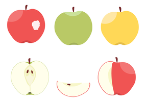 Apple Free Vector Art.