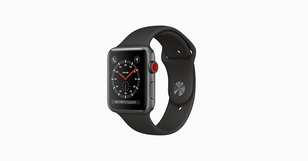 Buy Apple Watch Series 3.