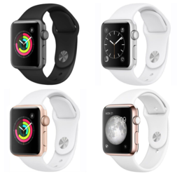 Apple Watch Sport clipart.