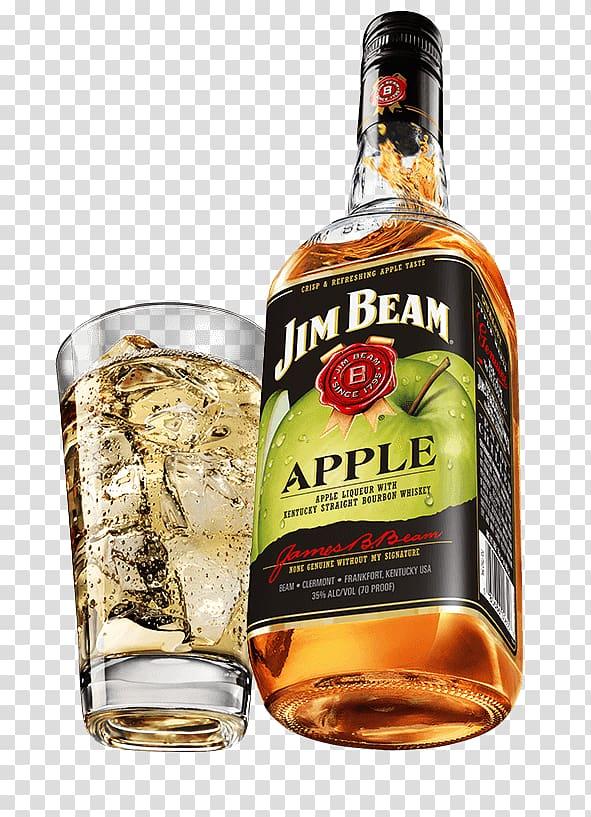 Bourbon whiskey Jim Beam Premium Cocktail Rye whiskey.