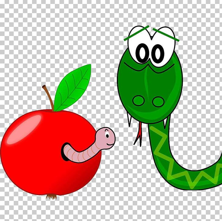 Smooth Green Snake PNG, Clipart, Animals, Apple, Apple Fruit.