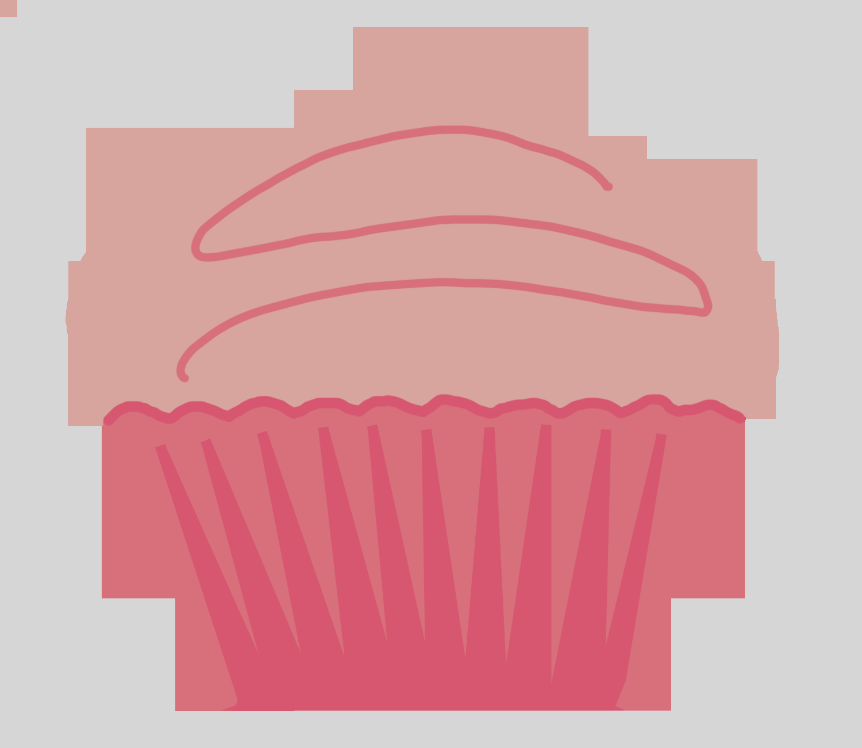 Cupcake Clip Art Black And White Apple Muffin Clipart.