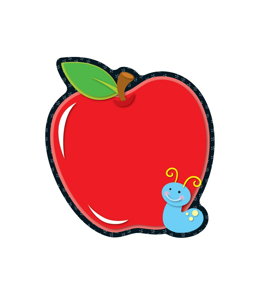 Apple Borders For Teachers Clipart.