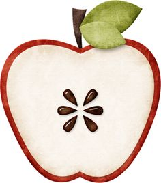 Apple Seed Clipart.
