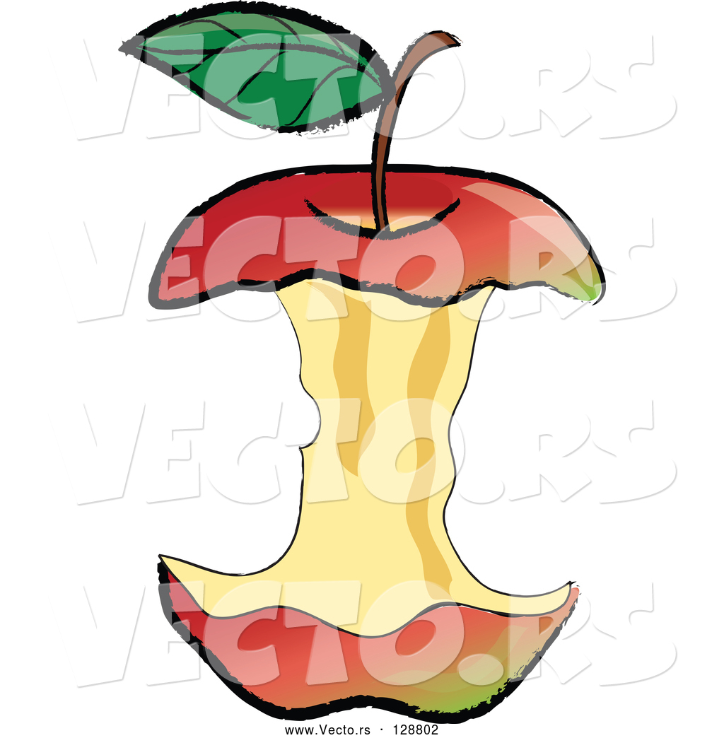 Apple Core Clipart at GetDrawings.com.