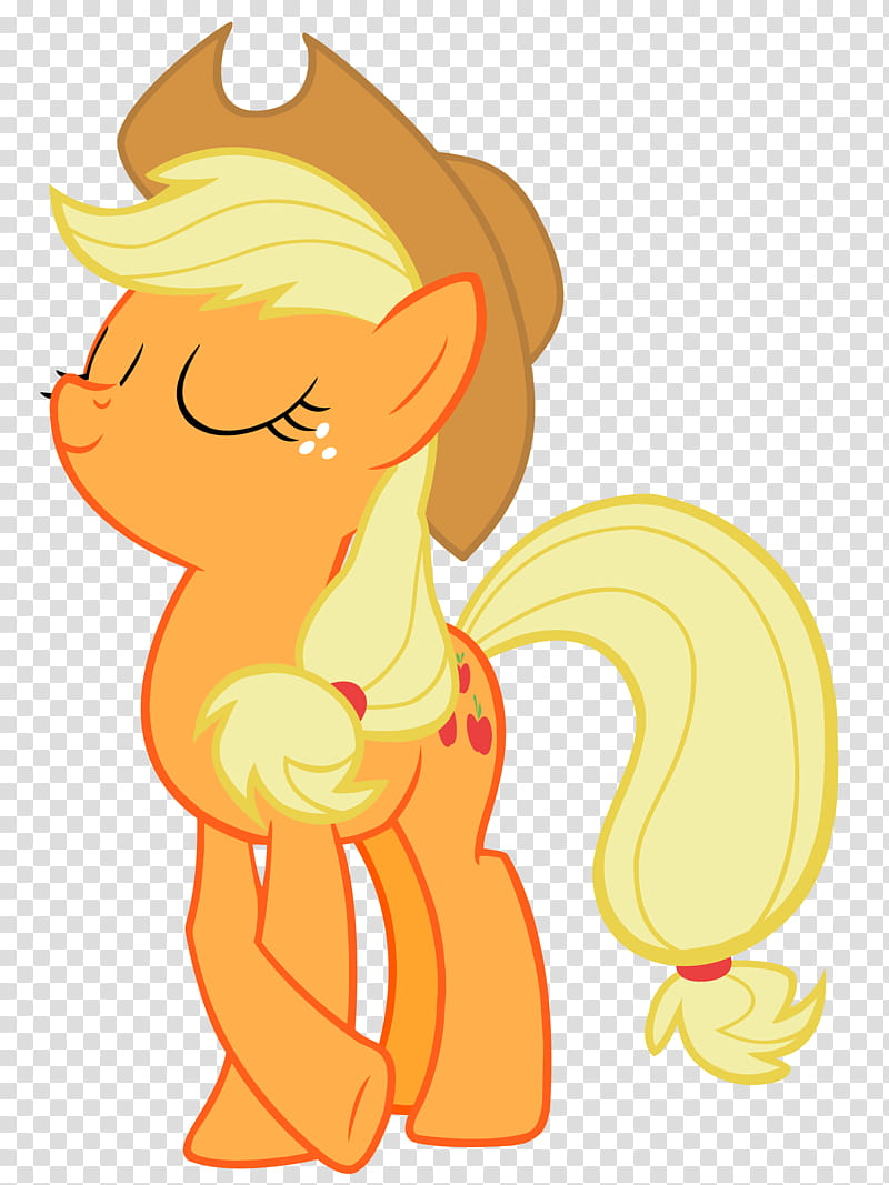 Applejack is Best Pony transparent background PNG clipart.