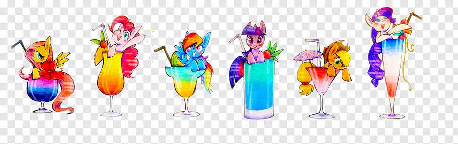 Cocktail Applejack Pony Pinkie Pie Twilight Sparkle.