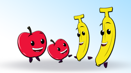Apples and Bananas Popular Children\'s Song.