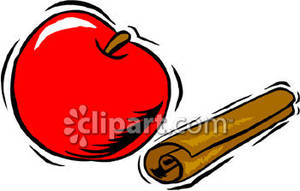 Apple and Cinnamon Stick.