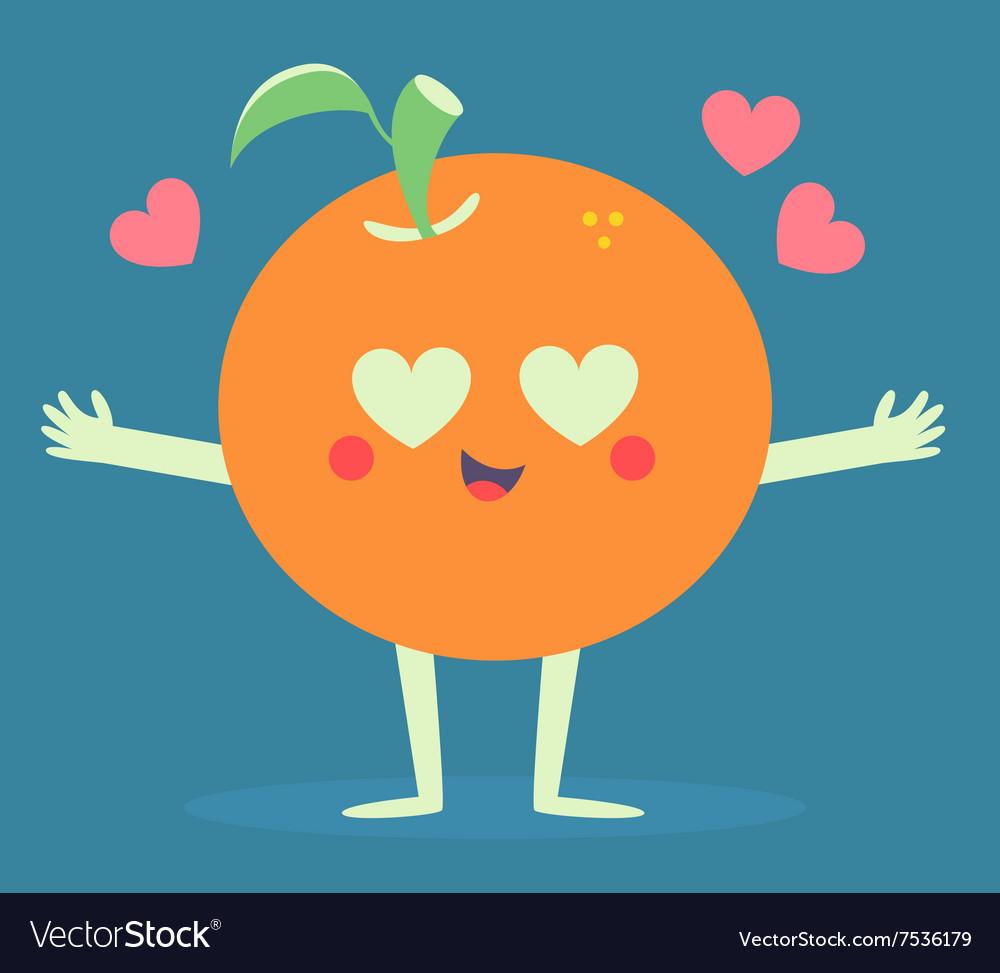 Cute Orange Crazy in Love.