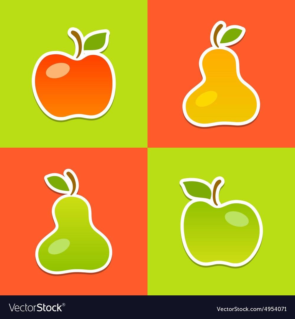 Apples Pears.