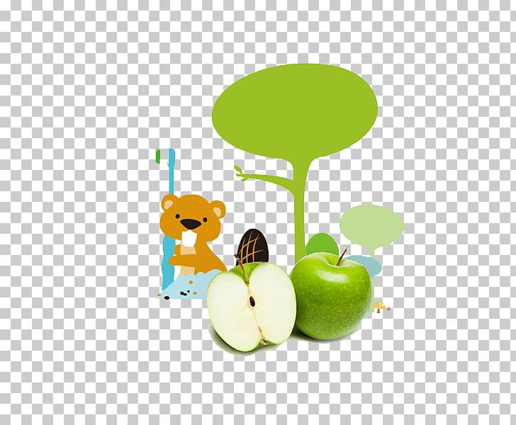 Cartoon Toothbrush Illustration, Cartoon bear PNG clipart.