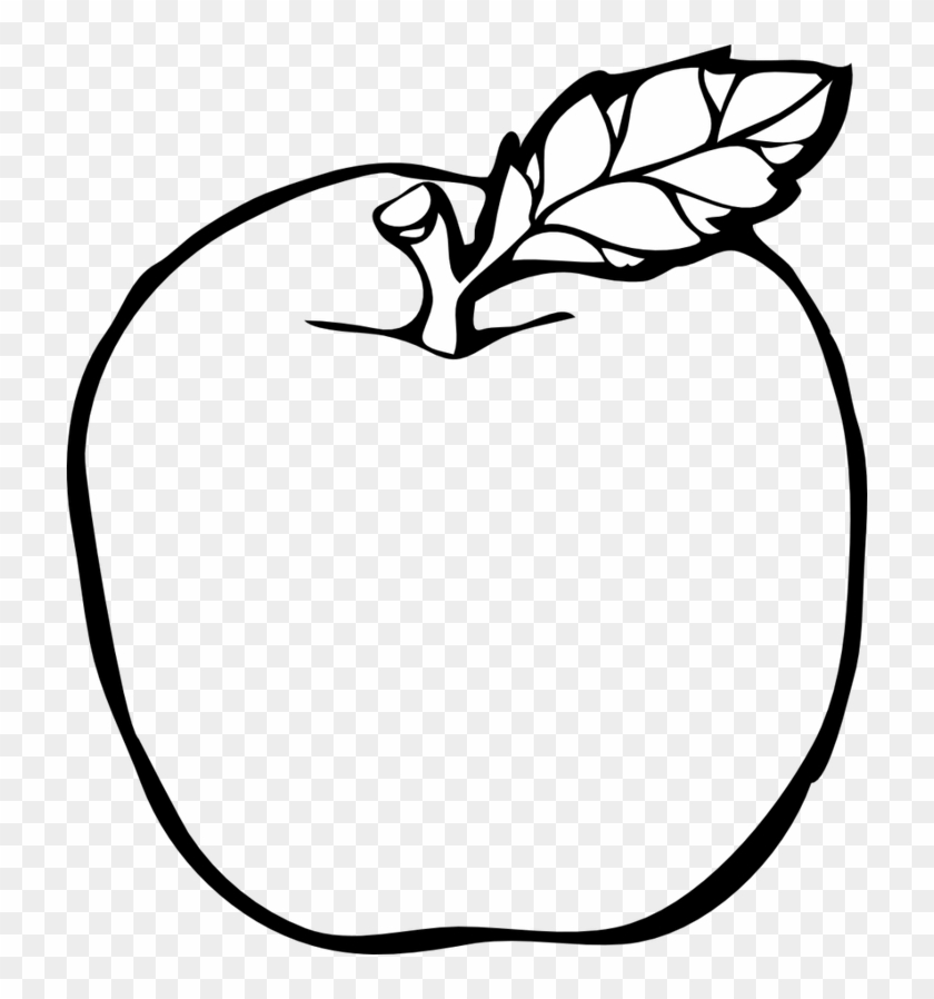 Drawn Apple Transparent.