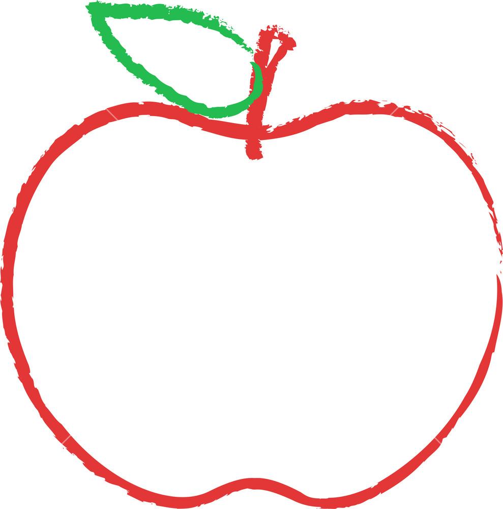 Apple Sketching Royalty.
