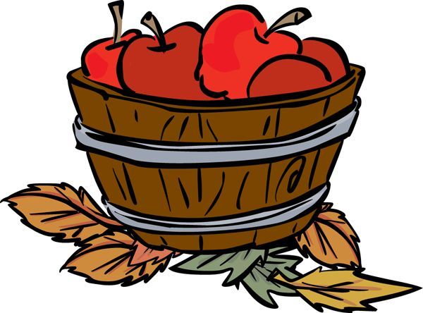 Fall Apple Clipart.