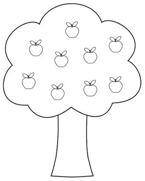 tree pattern clipart.