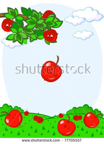 Newton Apple Stock Images, Royalty.