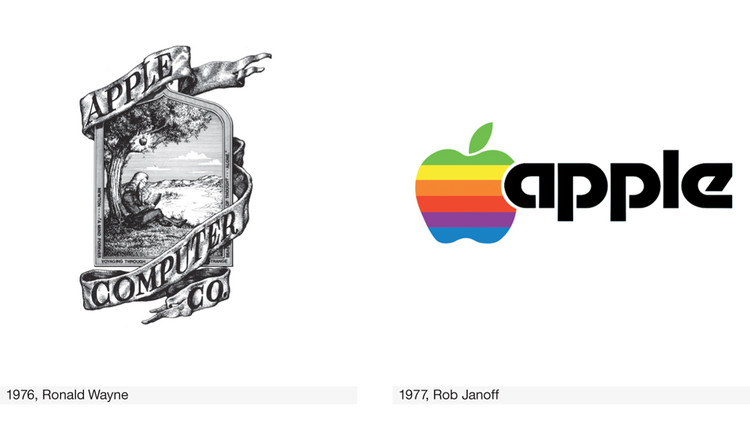 The story behind 100 super famous logos.
