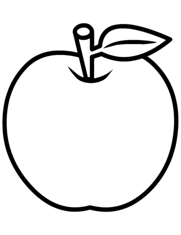 Apple clipart for coloring clipart images gallery for free.