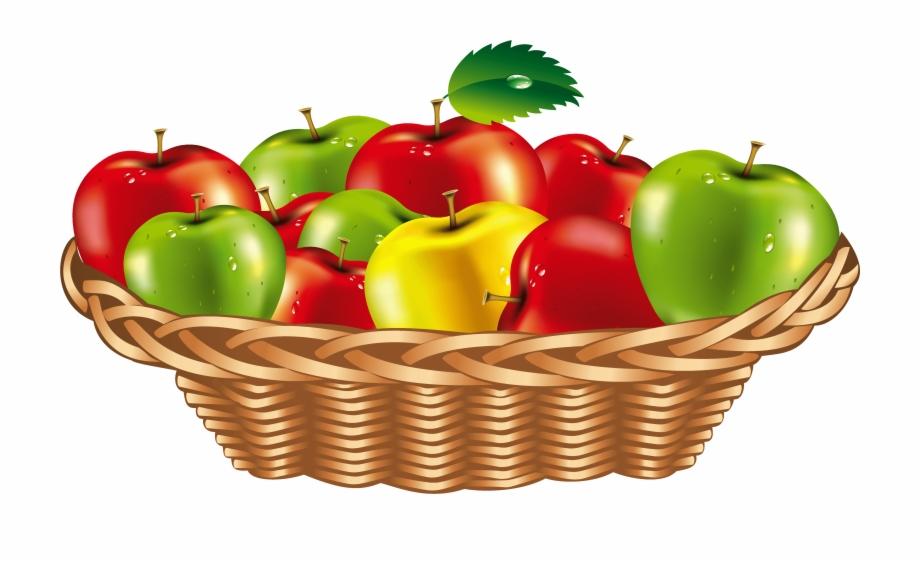 Fruit Basket Png Clipart.