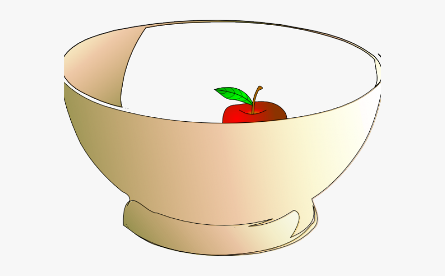 Bowl With 6 Apples , Free Transparent Clipart.