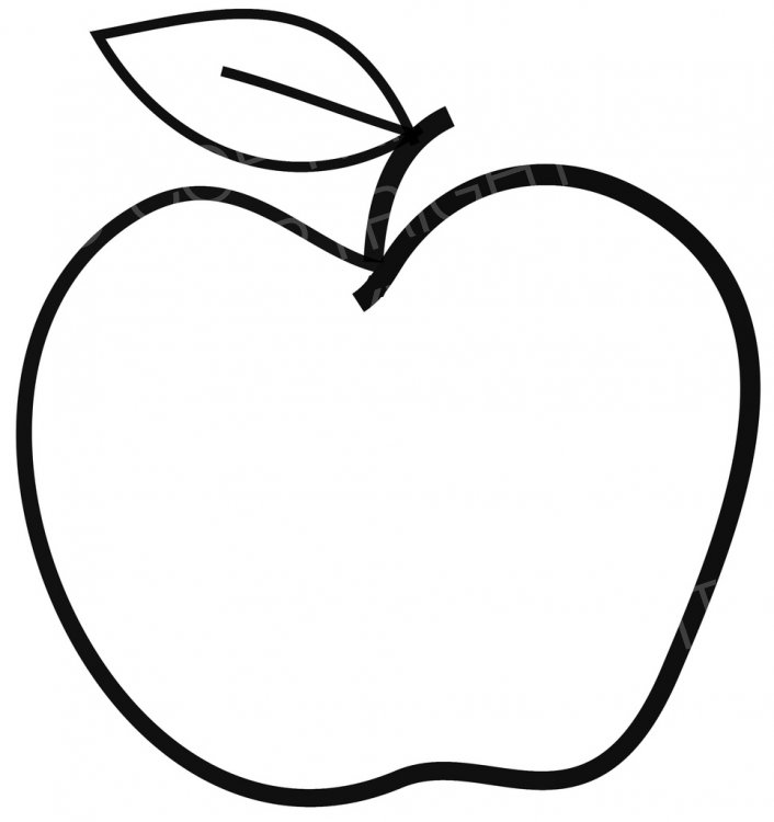 Clipart Picture Of Apple.