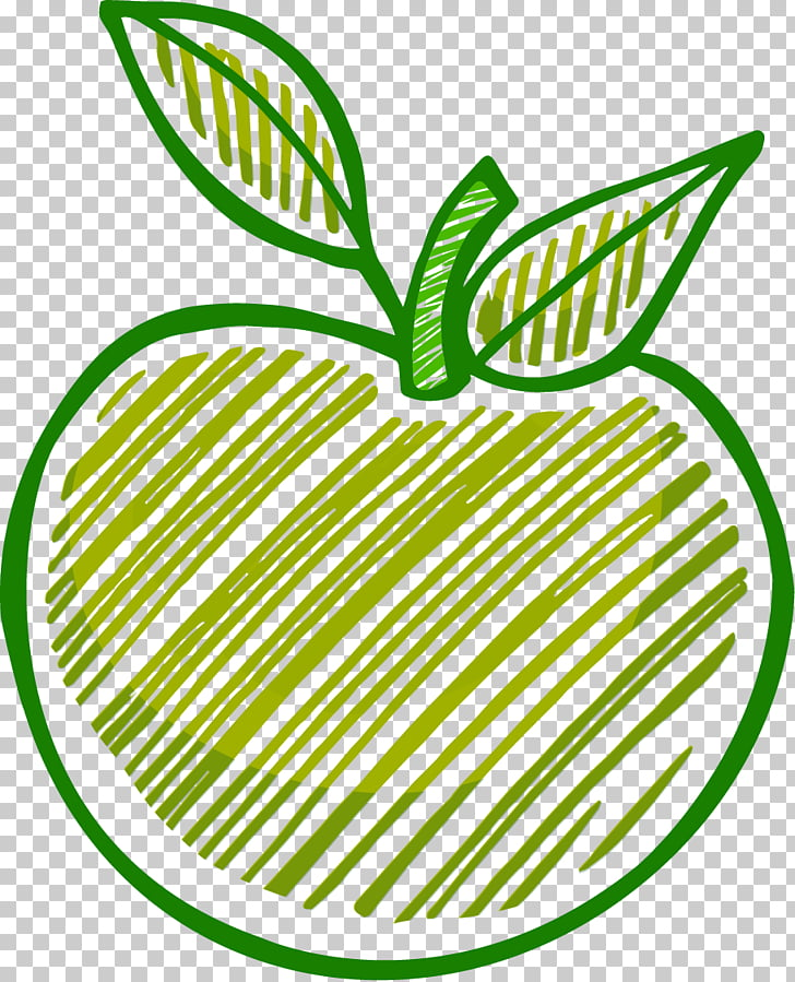 Drawing Apple, line drawing apples PNG clipart.