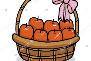 Apple basket clipart » Clipart Portal.