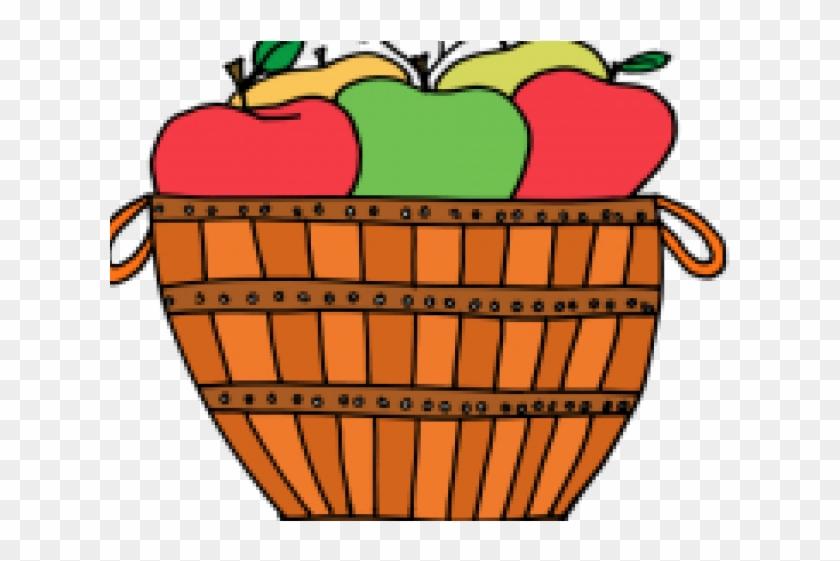 Apple Basket Cliparts.