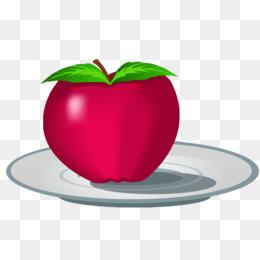 Drawing Apple Cartoon.